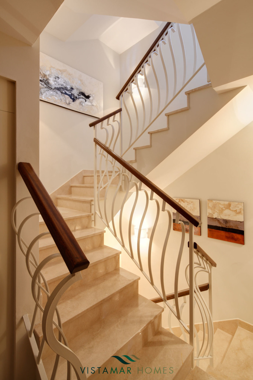 Stairs Connecting the 3 levels · VMV010 Exclusive Residential Homes in Benahavis
