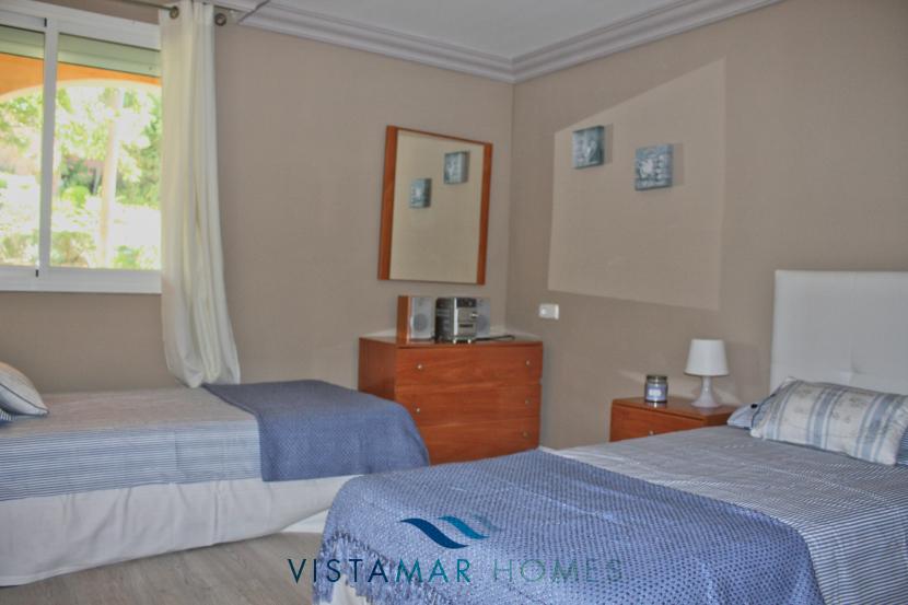 Second Bedroom - VMA011 Magna Marbella apartment