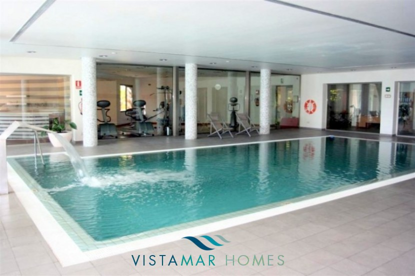 Relax at the indoor community pool vmp002 penthouse for sale at mansion club marbella