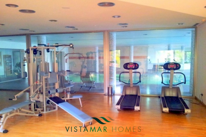 Gym area vmp002 penthouse for sale at mansion club marbella