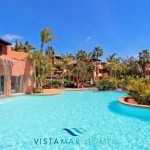 gardens and pools at Penthouse for sale at Mansion Club Marbella