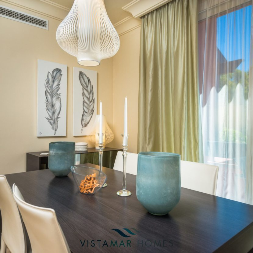 Dining area - VMD012 New Golf Apartments in Nueva Andalucia Marbella