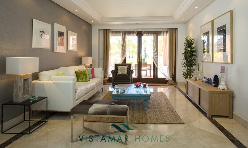 Luxury first line beach apartments for sale in Estepona