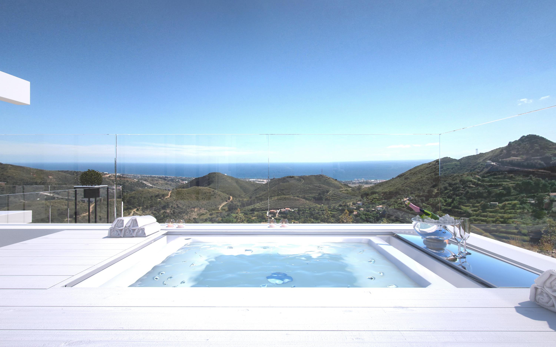 Appartamenti moderni con impressionante vista, vicino a Marbella