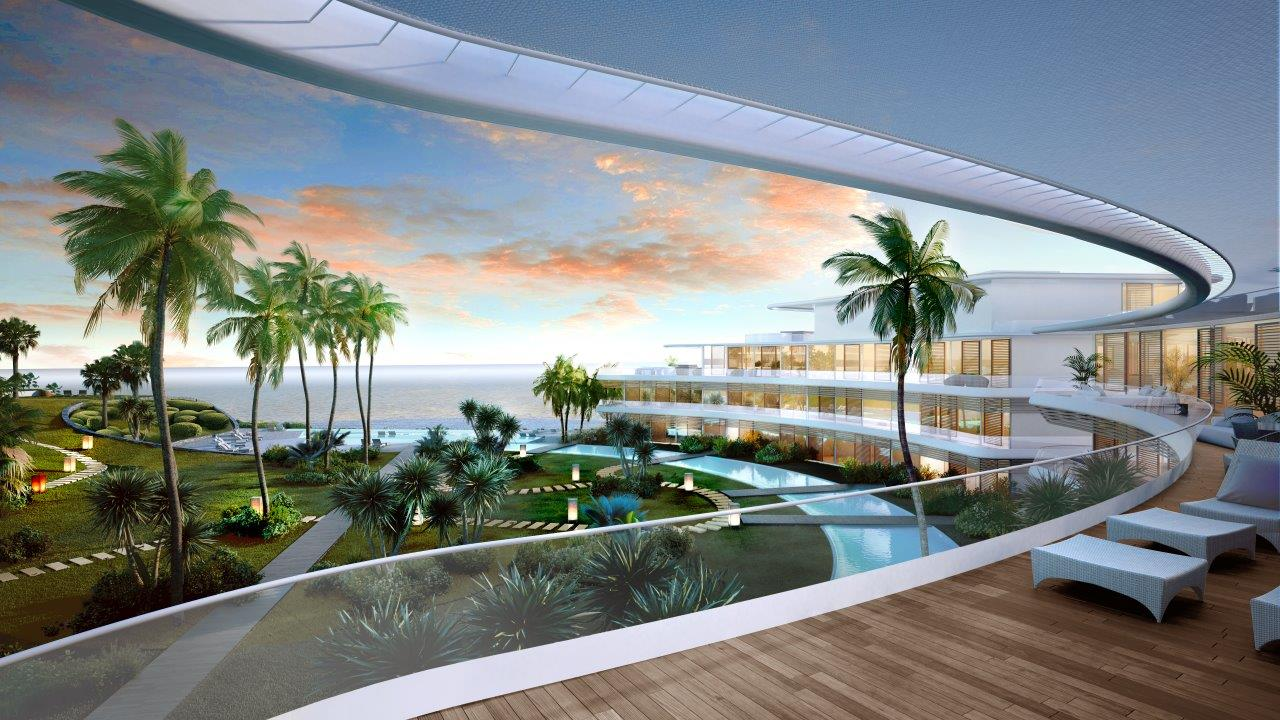 Amazing new luxury homes first line beach Estepona