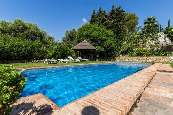 Beautiful rustic recently reformed detached villa in Benahavis