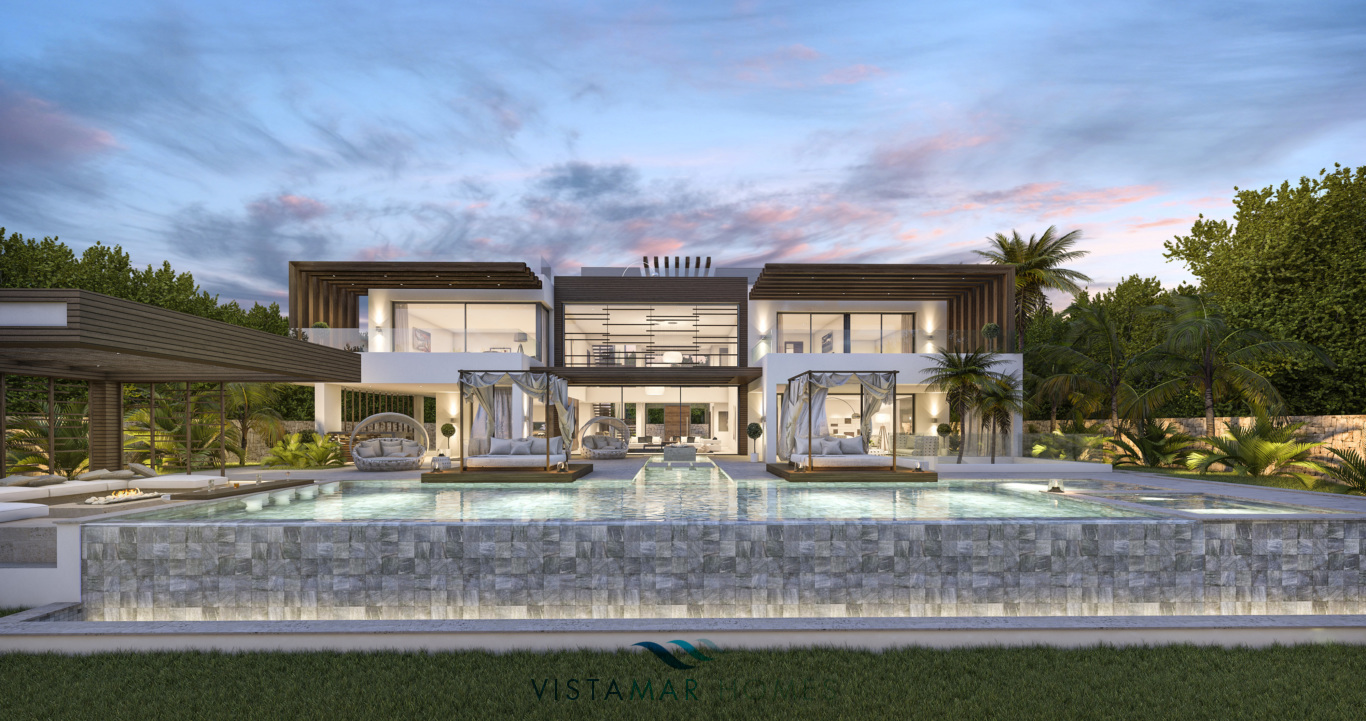 Nuova Villa contemporanea a Nagueles Golden Mile
