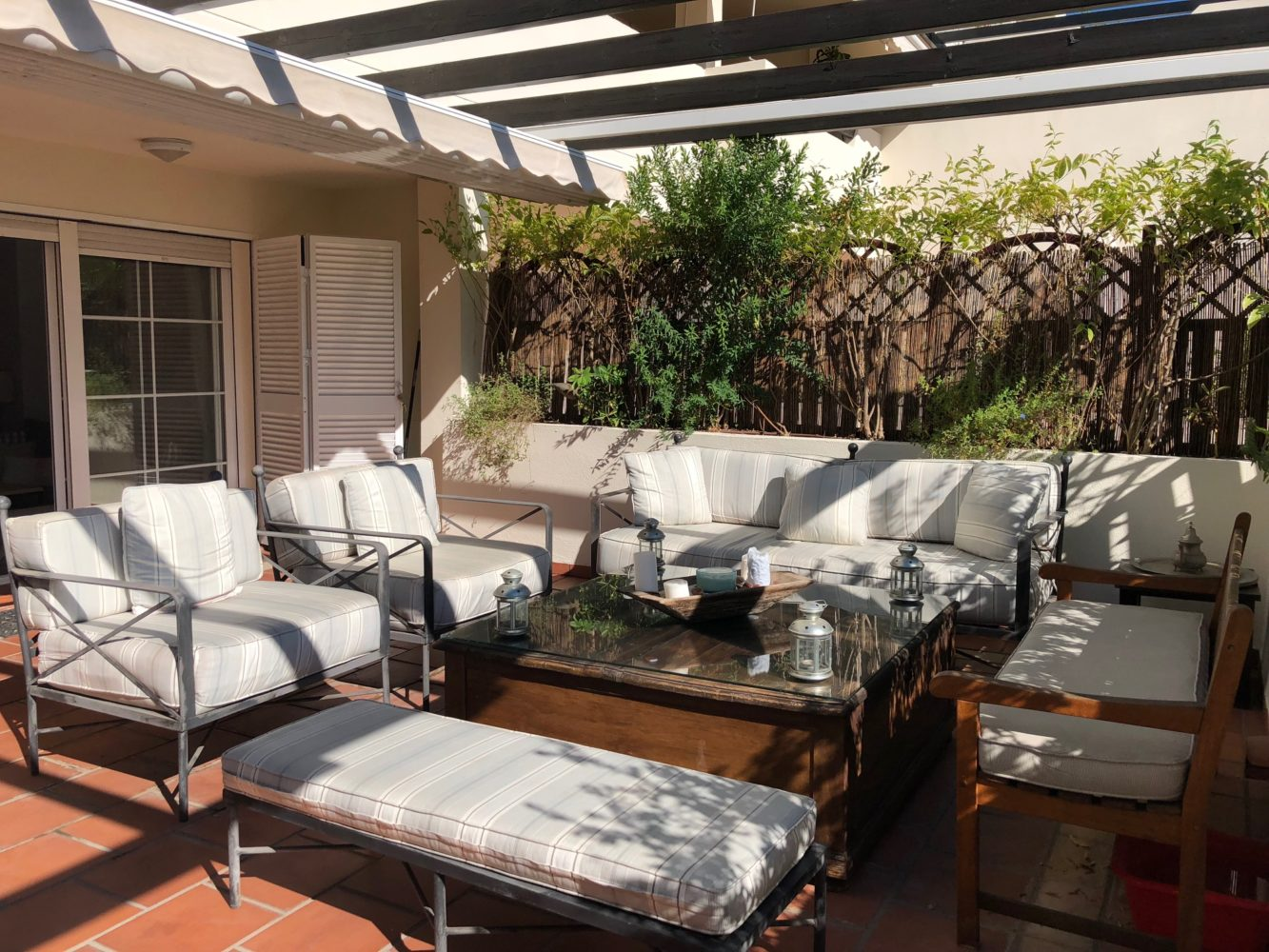 Garden apartment at walking distance to Marbella's Golden Mile