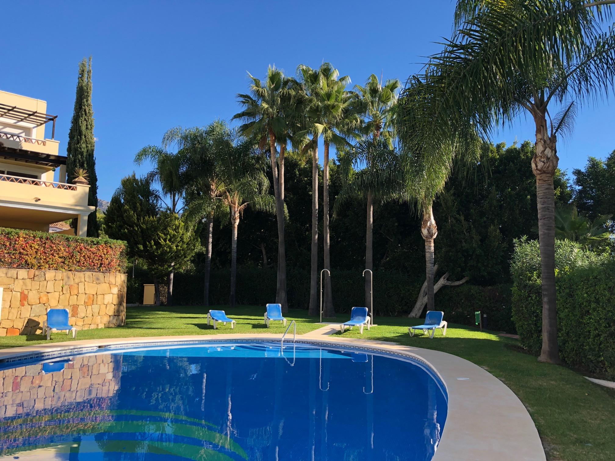 Beautiful garden apartment in Nagüeles, Marbella