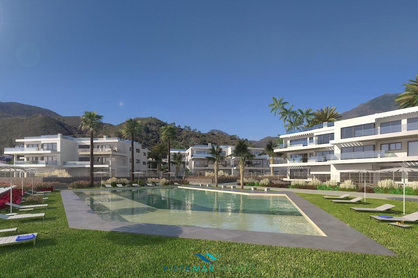 Promozione di appartamenti in stile contemporaneo a Benahavis