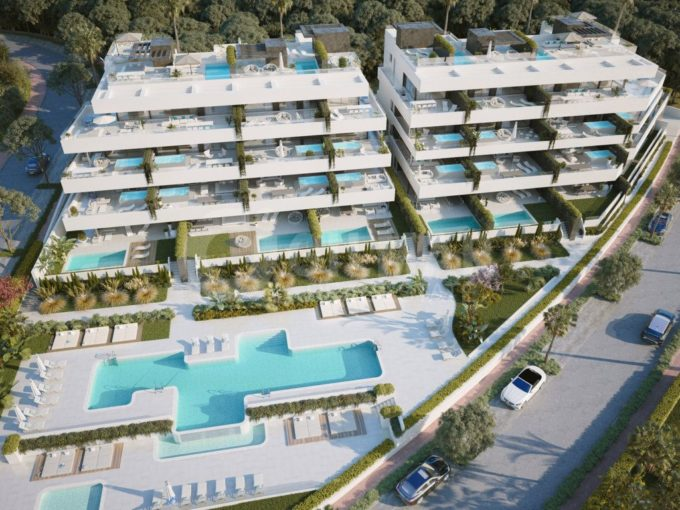 Project Boutique apartments and penthouses in New Golden Mile