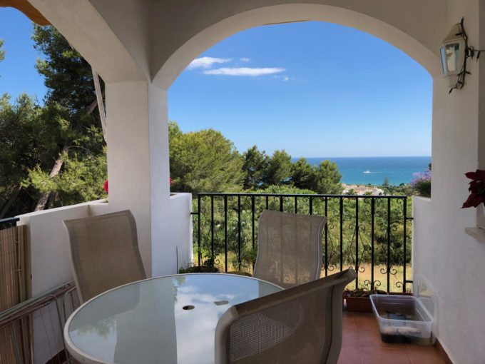 Grazioso appartamento con vista aperta sul mare a Nagüeles