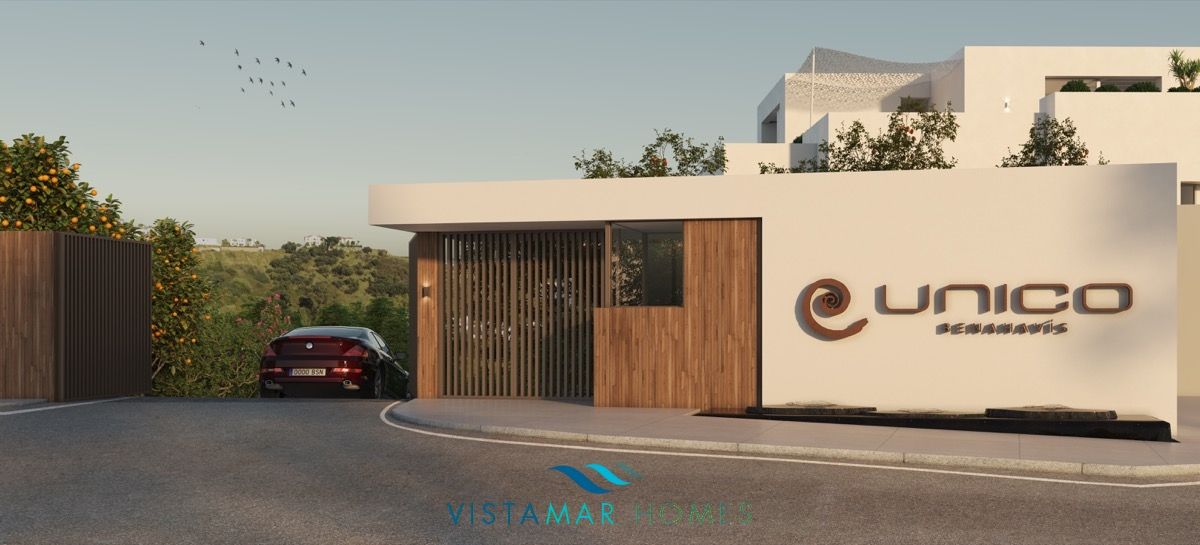Modern and innovative residential complex in Benahavis