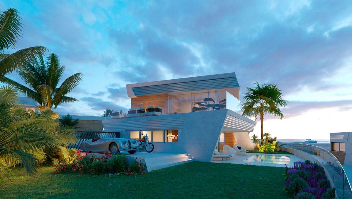 eden-resort-and-club-contemporary-town-homes-archimia_eden_i.e.03_imagen-desde-el-jardín-mirando-a-vivienda-tipo_3.1-3.2