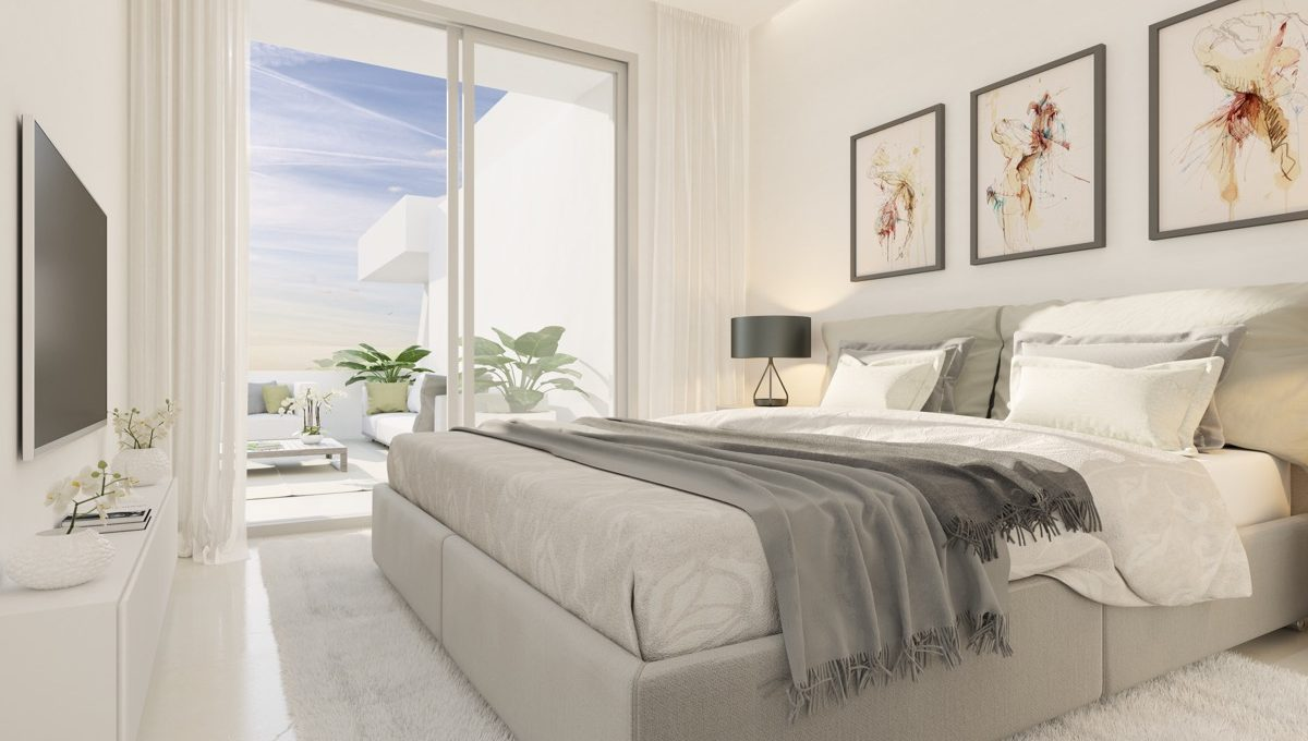 contemporary-apartments-in-estepona-marbella-vanian gardens - bedroom 1