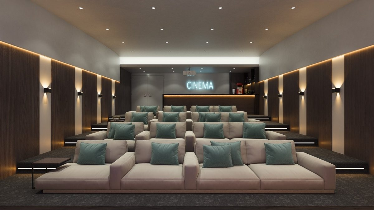 contemporary-apartments-in-estepona-marbella-vanian gardens - cinema room (2)