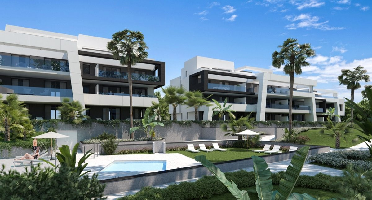 contemporary-apartments-in-estepona-marbella-vanian gardens - gardens_pool (1)