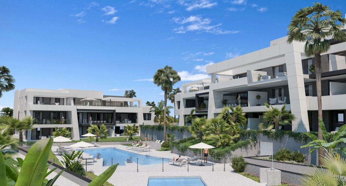 contemporary-apartments-in-estepona-marbella-vanian gardens - gardens_pool (2)
