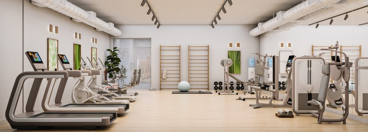 contemporary-apartments-in-estepona-marbella-vanian gardens - gym