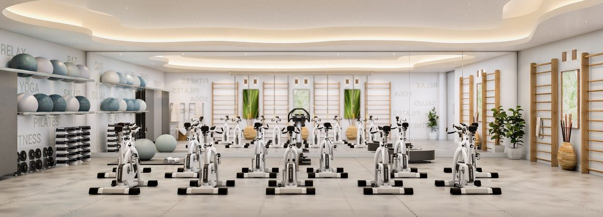 contemporary-apartments-in-estepona-marbella-vanian gardens - spinning room