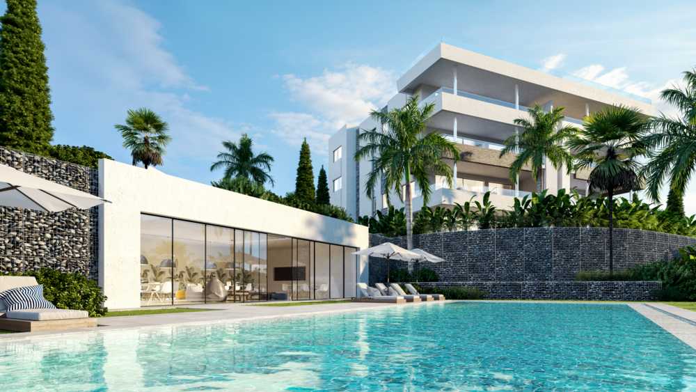 santa-clara-marbella-contemporary-exclusive-villas-penthouses-and-apartments-club-exterior-pool