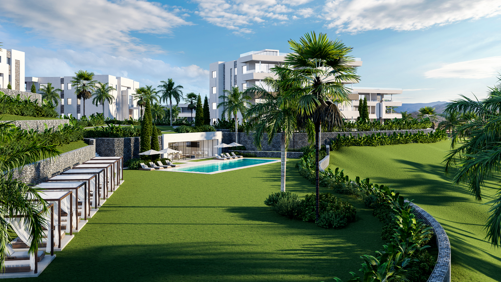 santa-clara-marbella-contemporary-exclusive-villas-penthouses-and-apartments-exterior-aerial-view