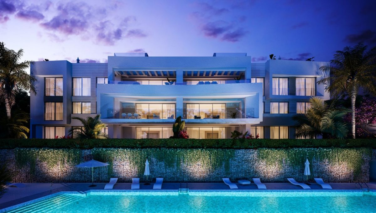santa-clara-marbella-contemporary-exclusive-villas-penthouses-and-apartments-exterior-block-nocturno
