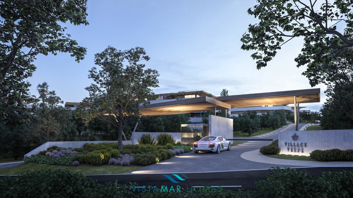 Sotogrande, Village Verde the new concept that brings modernity and nature together.